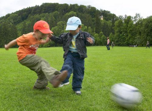 4000m² große Spielwiese für Christianhofgäste - Spaß und Action garantiert