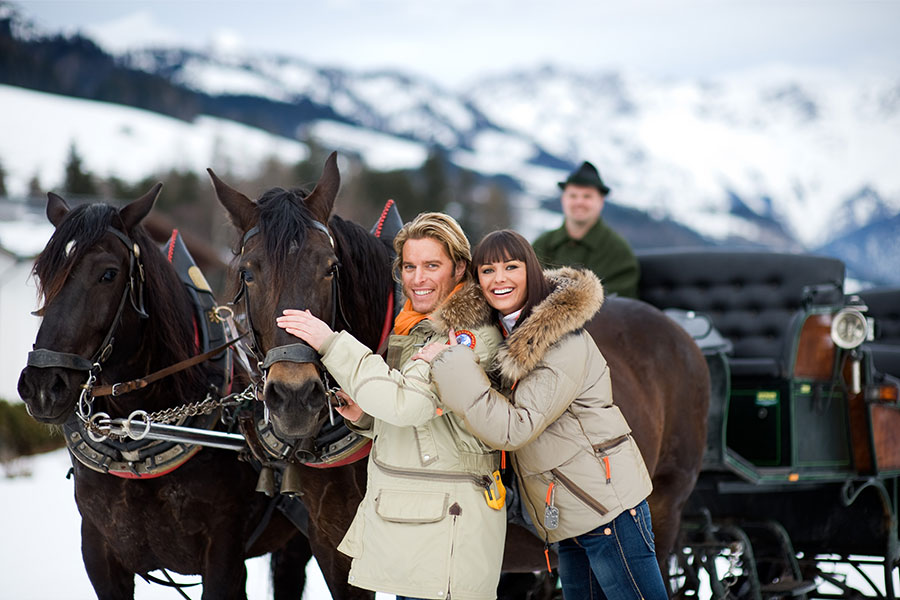 Saalbach Hinterglemm - Pferdekutschenfahrten